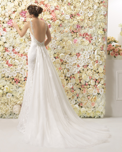 CASILDA wedding dress - Aire Barcelona 2017