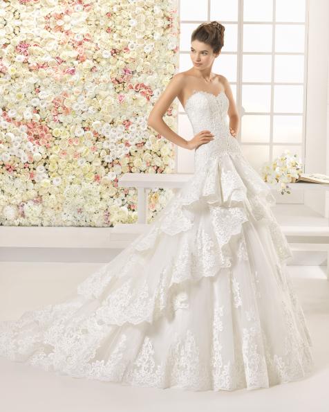 CAVO vestido de novia Aire Barcelona 2017