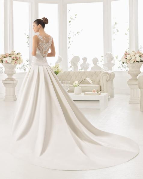 CELINA robe de mariée Aire Barcelona 2017