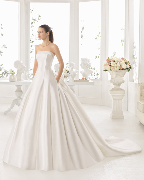 CENTELLA vestido de novia Aire Barcelona 2017