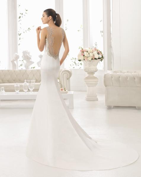 CEREZO vestido de noiva Aire Barcelona 2017
