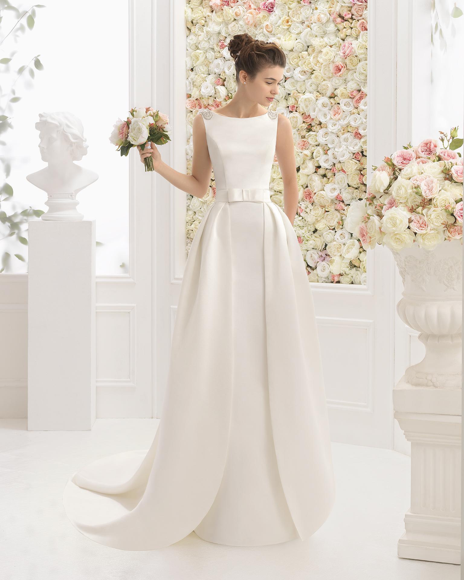 CESAR vestido de novia Aire Barcelona 2017