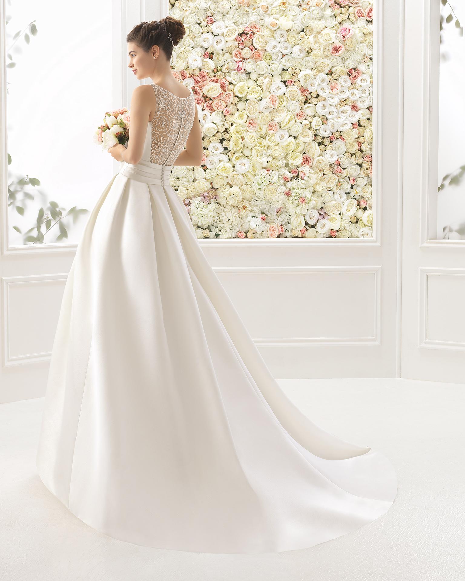 CHARLINE vestido de noiva Aire Barcelona 2017