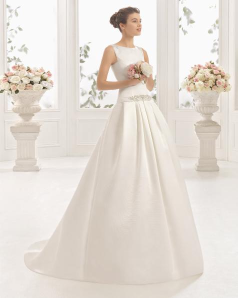 CHIARA vestido de noiva Aire Barcelona 2017