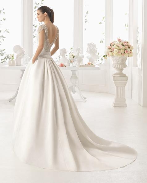 CHILE vestido de noiva Aire Barcelona 2017