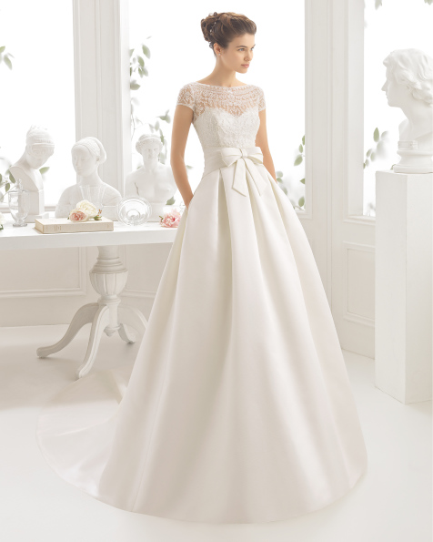 CIDRA vestido de noiva Aire Barcelona 2017