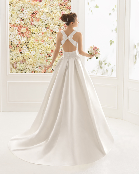 CIELO vestido de noiva Aire Barcelona 2017