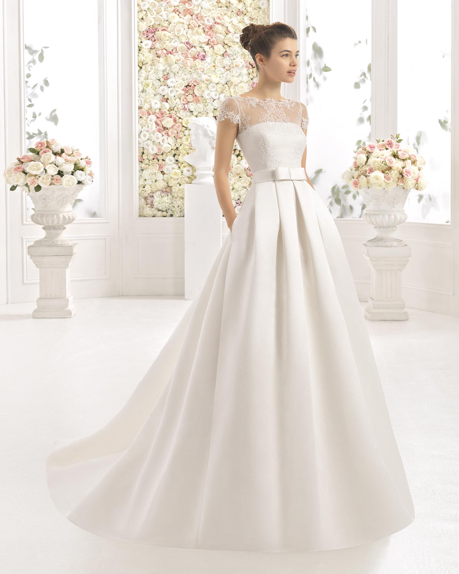 CLADY robe de mariée Aire Barcelona 2017