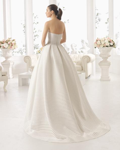 COBRE tailored hemstitch dress.