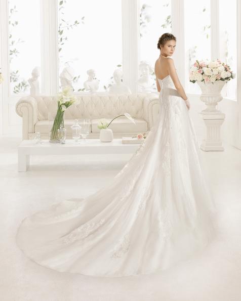 CRISTINE robe de mariée Aire Barcelona 2017
