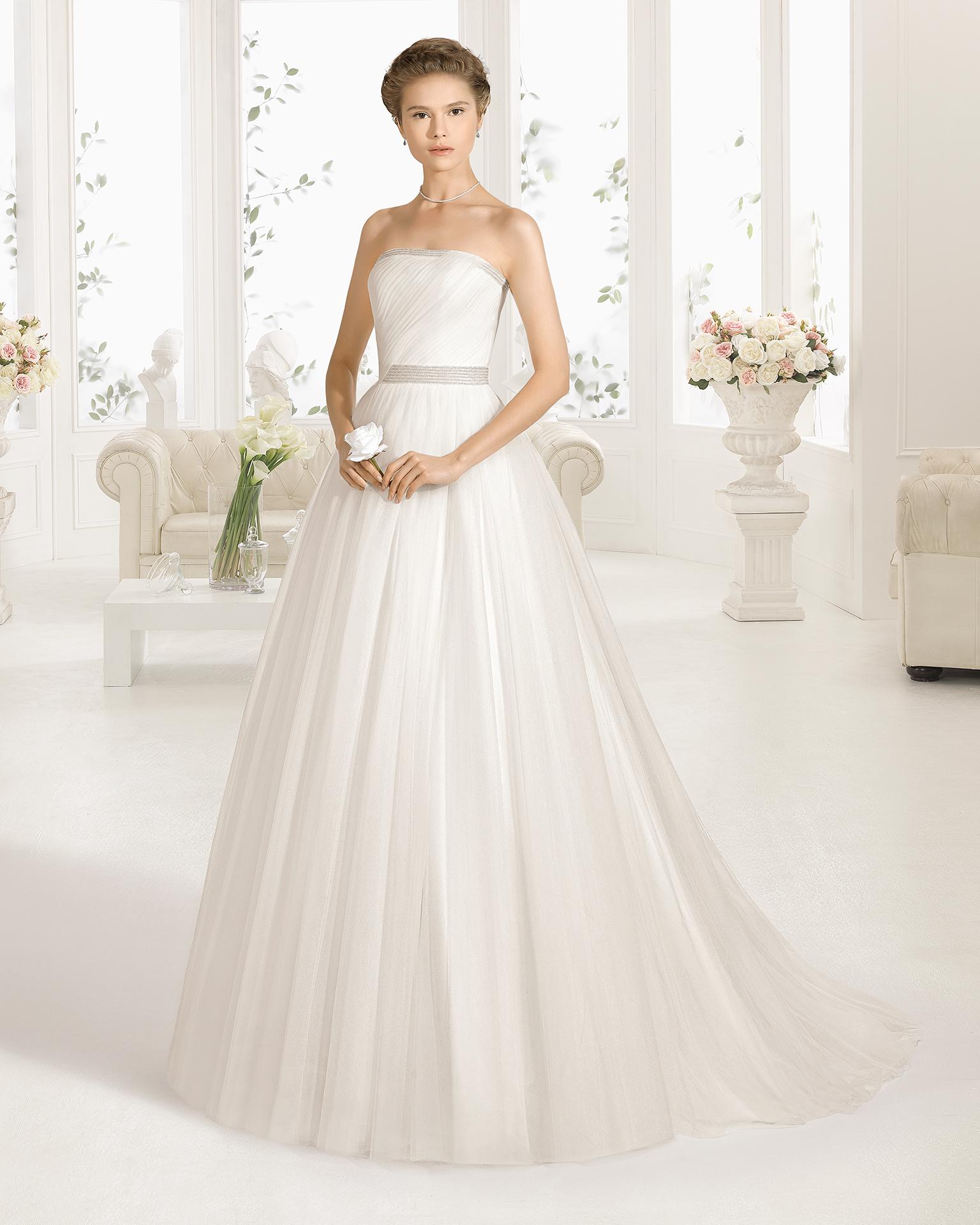 CUBA vestido de noiva Aire Barcelona 2017