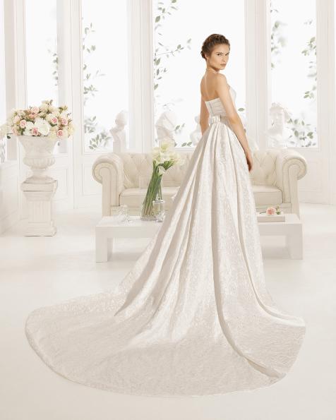 CYRENE robe de mariée Aire Barcelona 2017