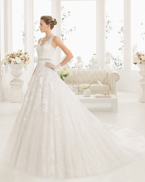 MISTICO robe de mariée Aire Barcelona 2017
