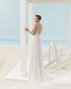 f6728cdfc XANDY vestido de novia Aire Barcelona Beach Wedding 2017