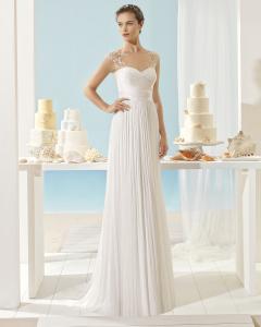 655e83fff XANTHE vestido de novia Aire Barcelona Beach Wedding 2017
