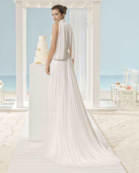 XANTINA silk muslin dress.