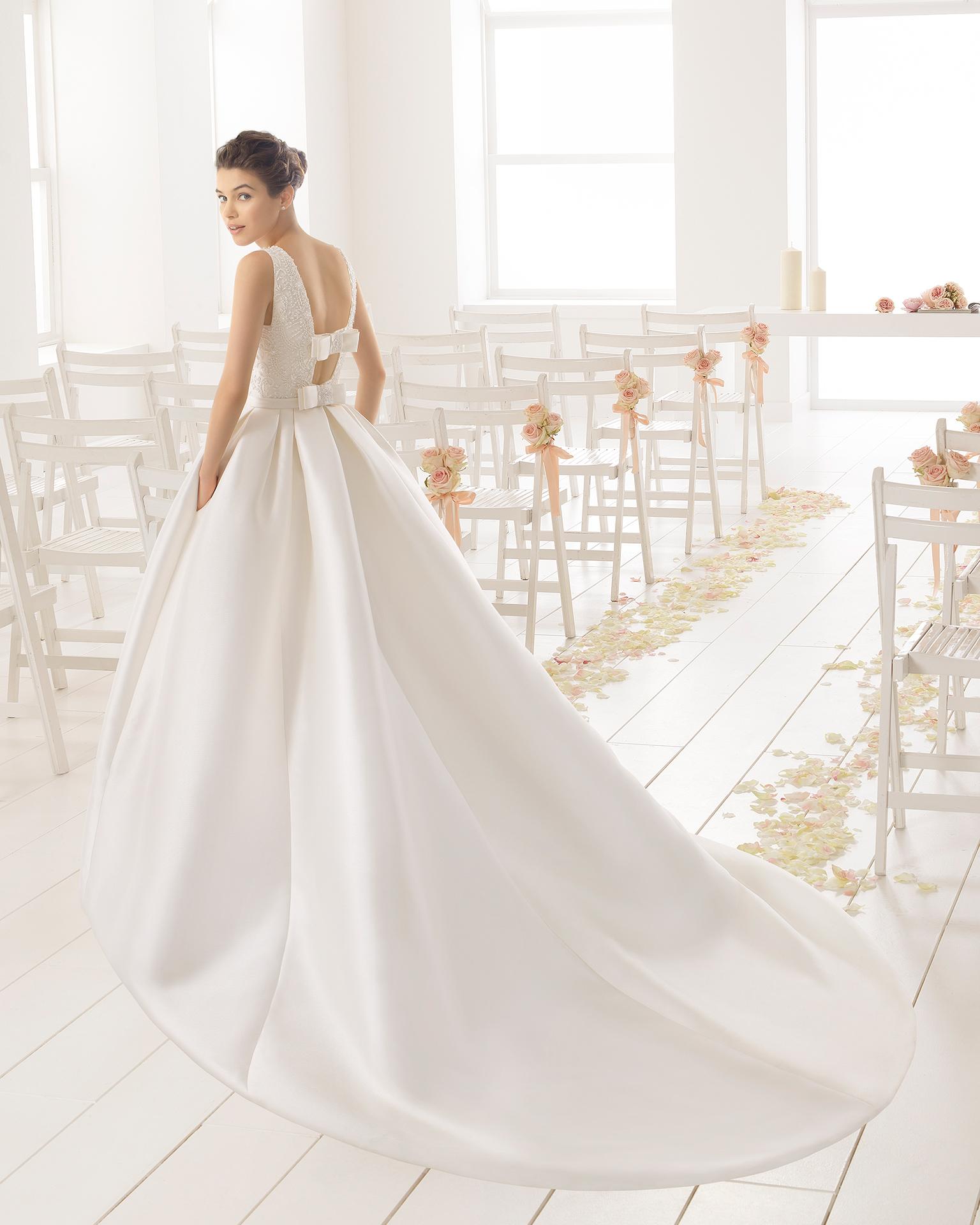 Precios de vestidos de novia aire barcelona 2016