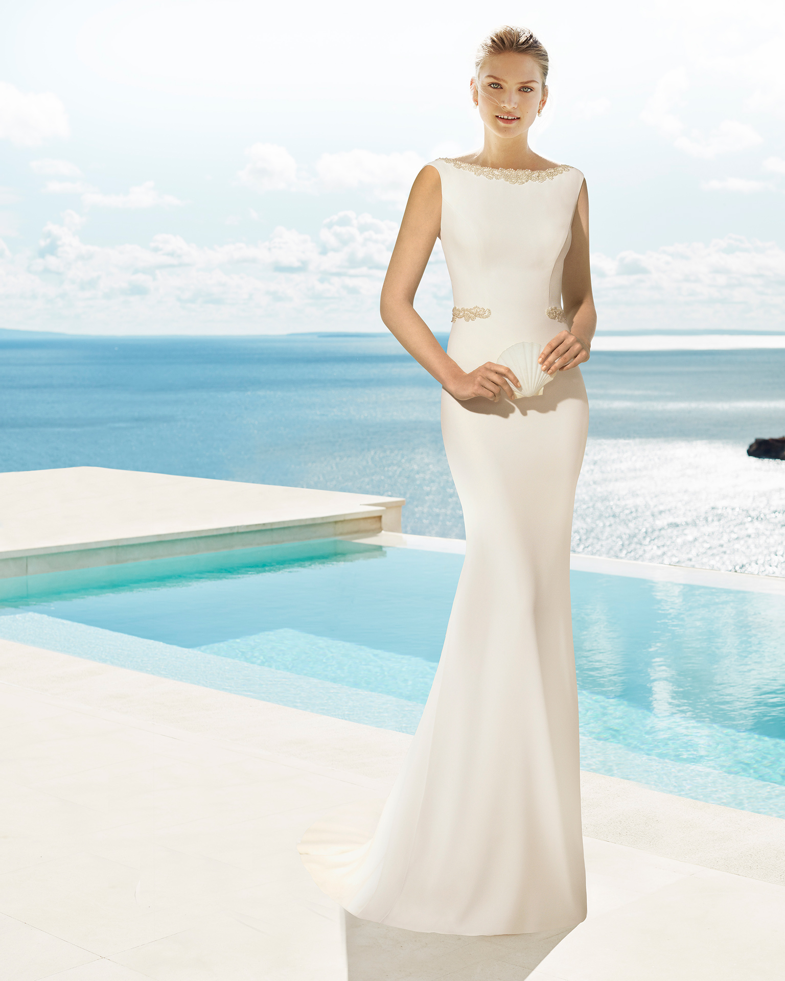 Umbra Wedding Arie 2018Colección Beach Novia EWD2H9I