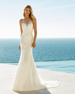 Bridal gowns for waterside weddings - Beach Wedding | Aire Barcelona
