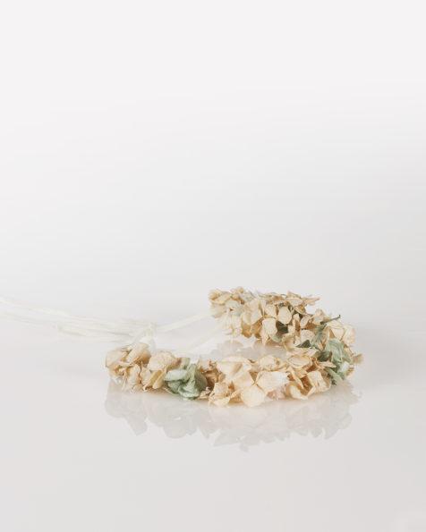 Organza bridal crown headpiece (multicoloured). 2018  Collection.