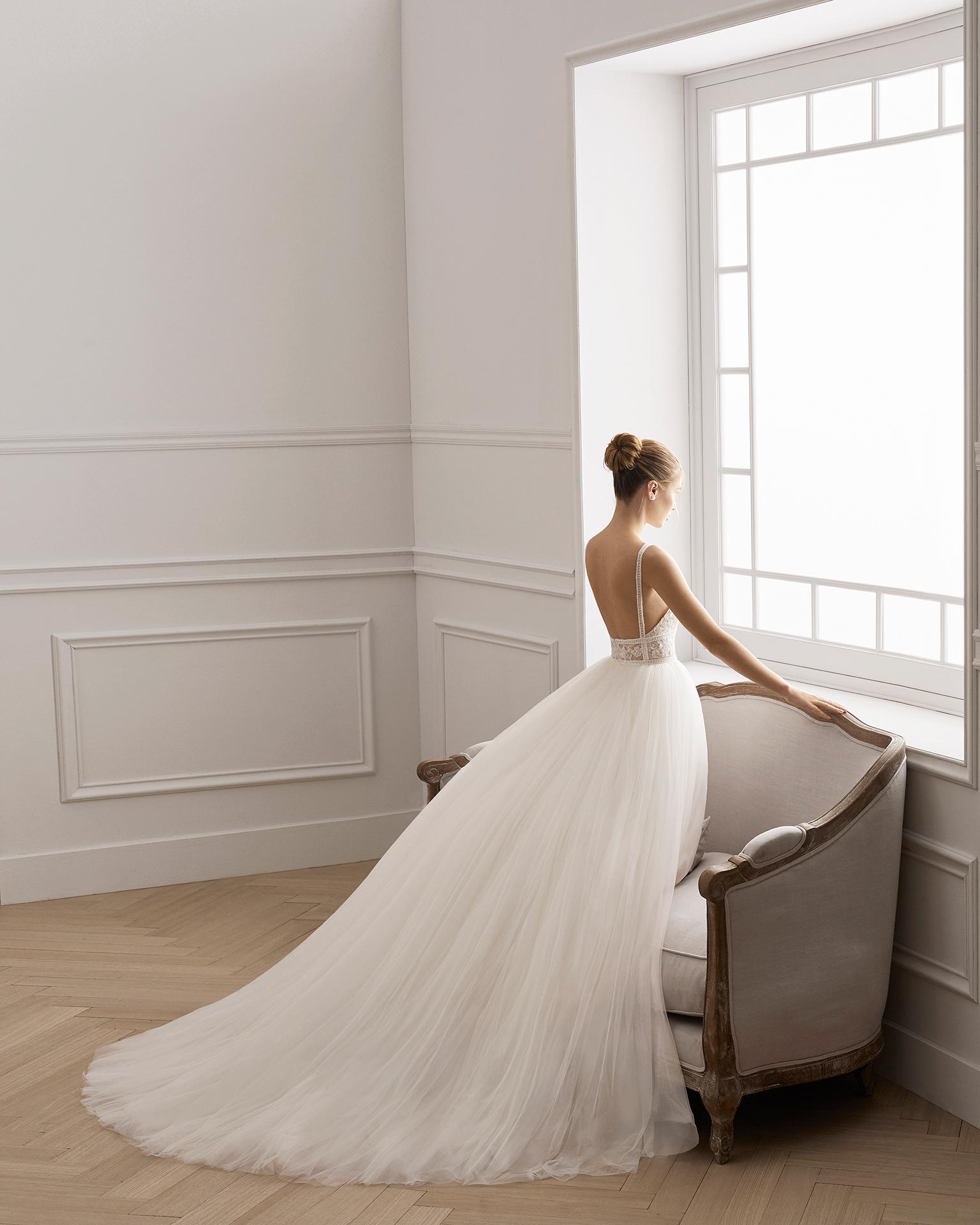 Vestidos de novia aire de barcelona 2019