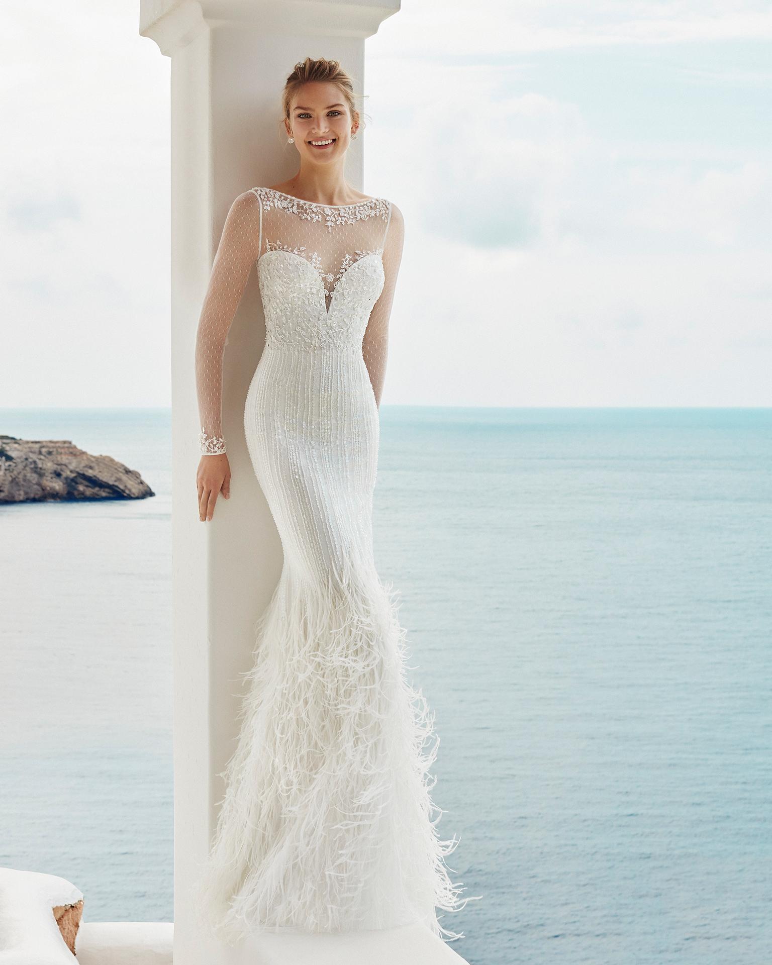 Vestido novia sirena 2019