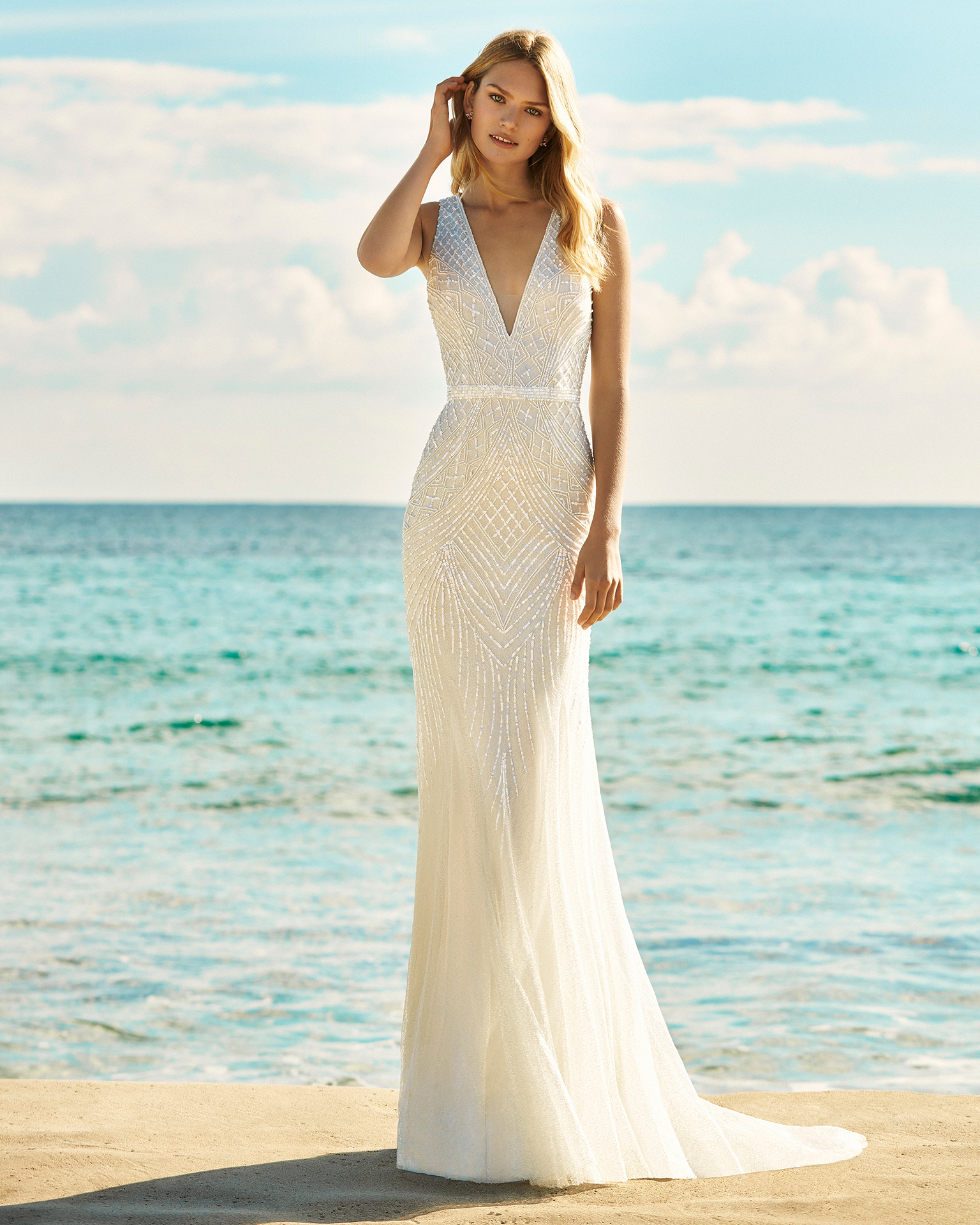 Bridal 2019. AIRE BEACH WEDDING Collection