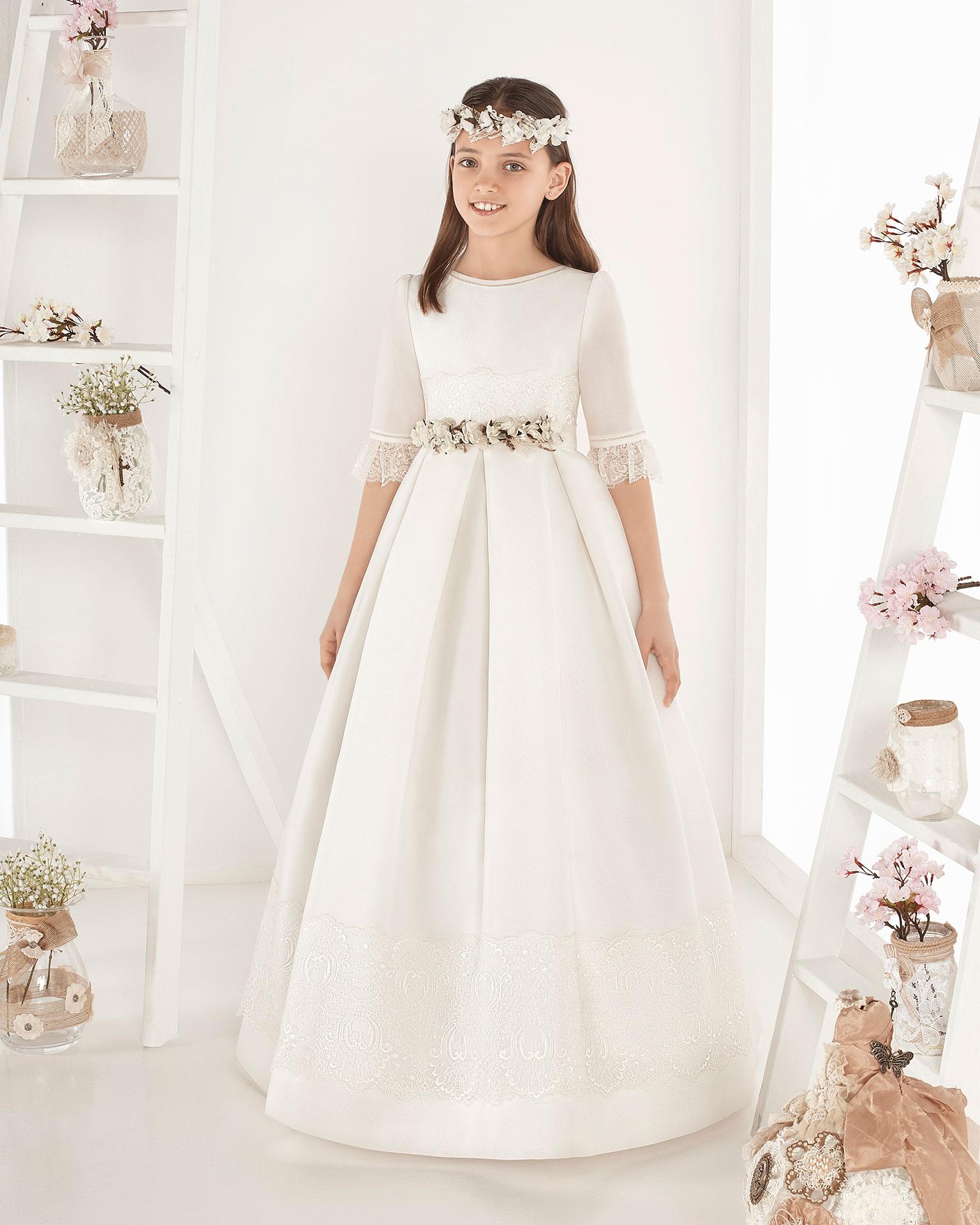Colecciones de vestidos de comunion 2019