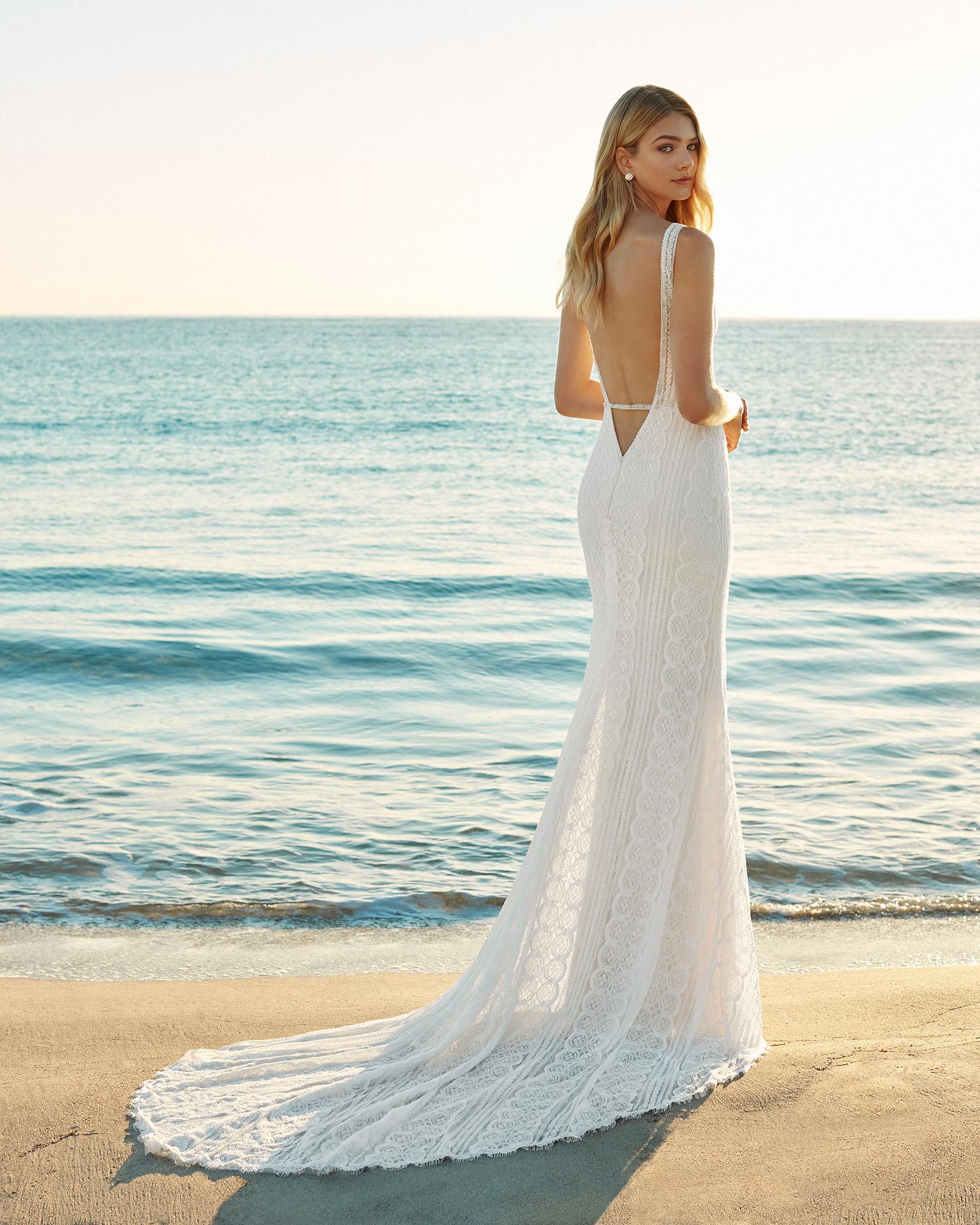 Gaura Bridal 2020 Aire Beach Wedding Collection