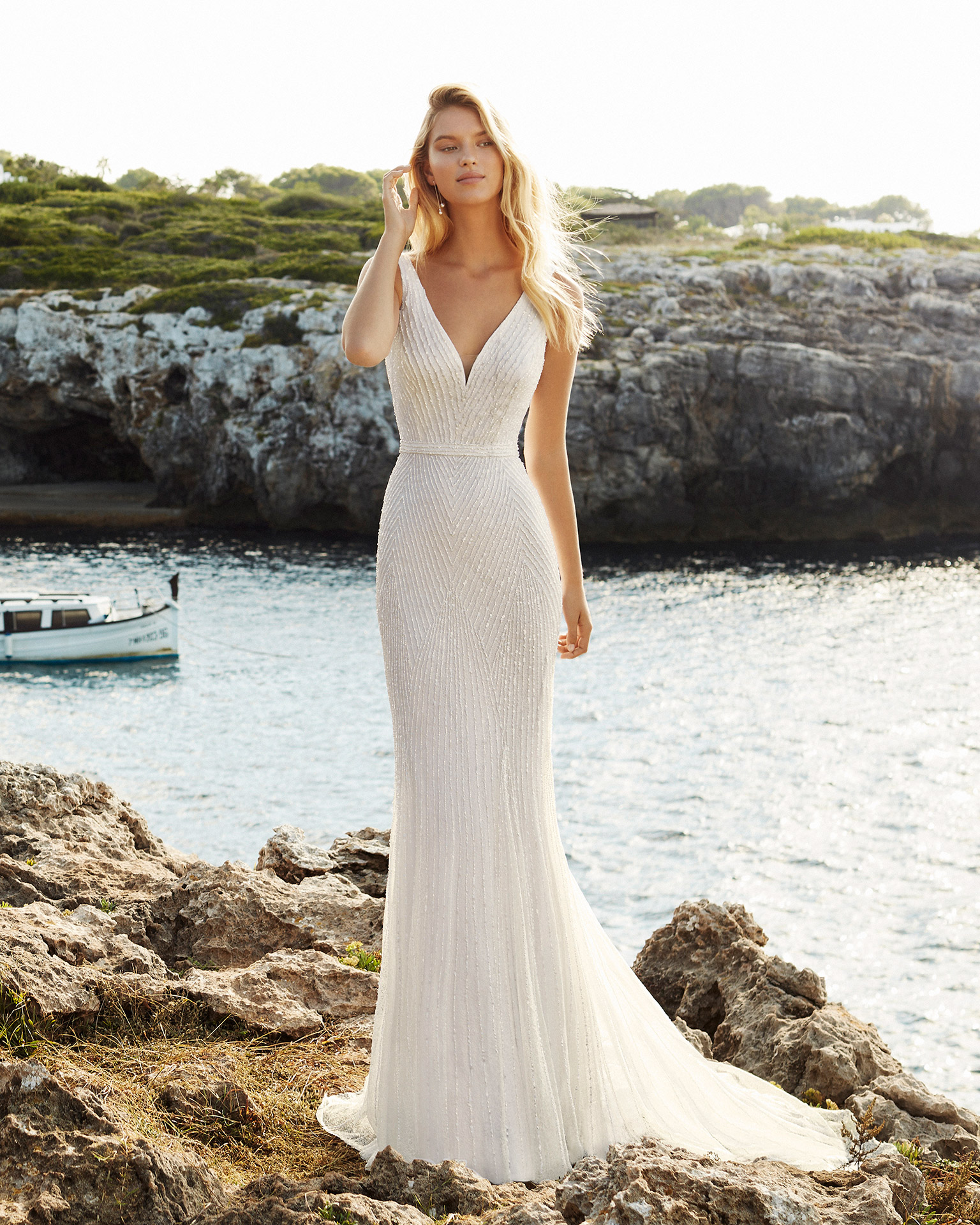 Bridal 2020. AIRE BEACH WEDDING Collection