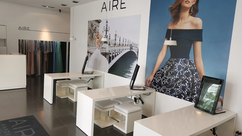 Aire Barcelona store Puebla