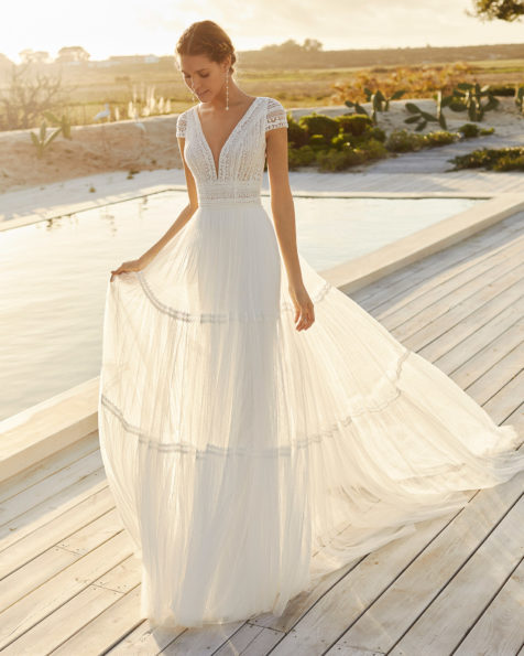 Wedding Dresses 2021 Aire Beach Wedding Aire Barcelona