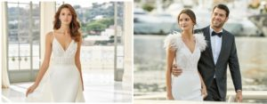 Aire Barcelona Wedding dresses Preview collection